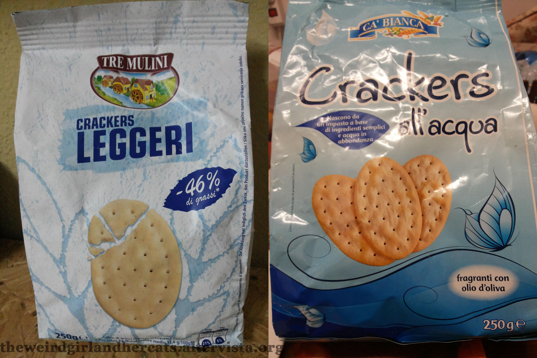 Comparazione crackers del discount the weird girl and for Prezzo acqua blues eurospin